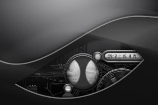 Digital Clock - Obrázkek zdarma pro HTC One