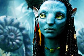Avatar Neytiri - Obrázkek zdarma pro LG Optimus M