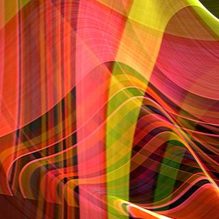 Colorful Rays - Obrázkek zdarma pro 1024x1024