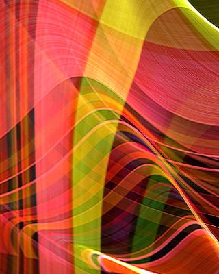 Colorful Rays - Obrázkek zdarma pro Nokia Asha 310