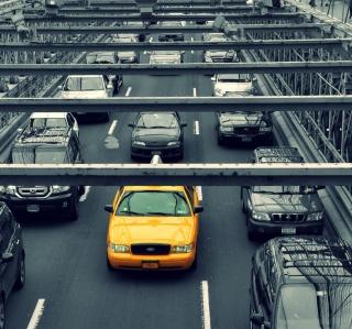 New York City Yellow Cab - Obrázkek zdarma pro iPad 2