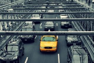 New York City Yellow Cab - Obrázkek zdarma pro 1200x1024
