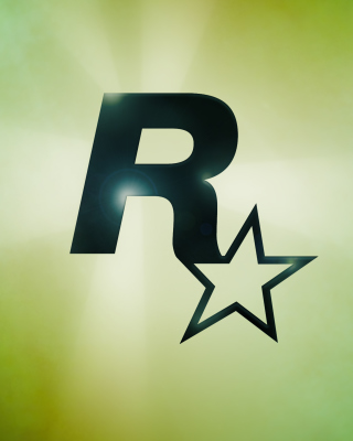 Rockstar Games Logo - Obrázkek zdarma pro 360x400