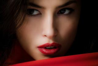 Red Lips - Obrázkek zdarma pro Fullscreen Desktop 1400x1050