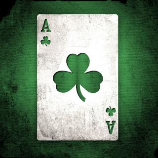 Shamrock Card Ace - Obrázkek zdarma pro iPad mini