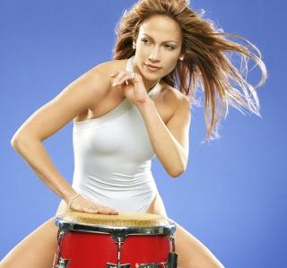 Jennifer Lopez - Obrázkek zdarma pro iPad Air