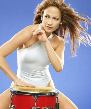 Jennifer Lopez - Obrázkek zdarma pro Nokia X6