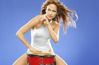 Jennifer Lopez - Obrázkek zdarma pro Samsung Galaxy Ace 4