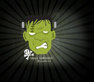 Green Frankenstein - Obrázkek zdarma pro iPad