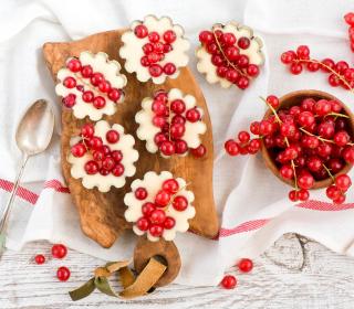 Red Currant Dessert - Obrázkek zdarma pro 2048x2048