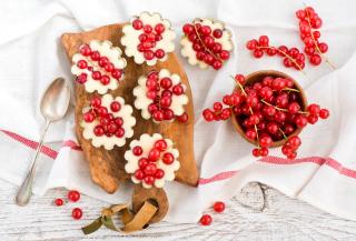 Red Currant Dessert - Obrázkek zdarma pro 1152x864