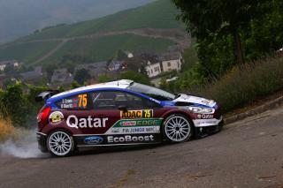 Ford Fiesta R5 WRC - Obrázkek zdarma pro LG Optimus L9 P760