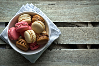 Macaron Background for Android, iPhone and iPad