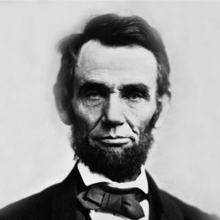 Abraham Lincoln - Obrázkek zdarma pro iPad Air