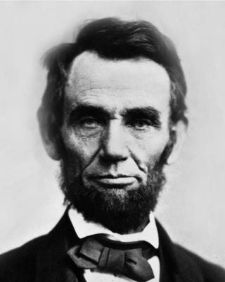 Abraham Lincoln - Obrázkek zdarma pro 360x400
