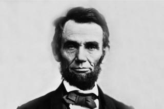 Abraham Lincoln - Obrázkek zdarma pro 1200x1024
