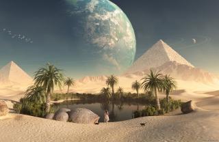 Paradise Oasis - Obrázkek zdarma pro Samsung Galaxy Tab 3