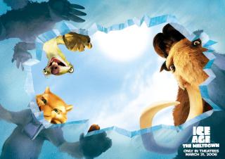 Ice Age: The Meltdown - Obrázkek zdarma pro Desktop Netbook 1366x768 HD