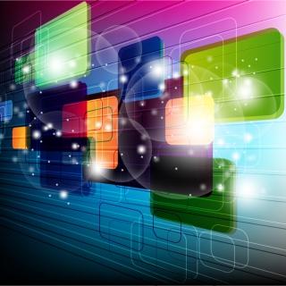 3d Technology - Obrázkek zdarma pro 1024x1024
