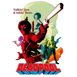 Deadpool - Obrázkek zdarma pro iPad Air
