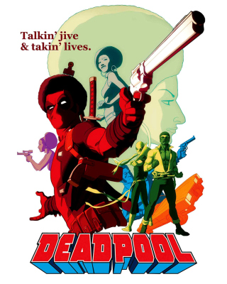 Deadpool - Obrázkek zdarma pro 1080x1920