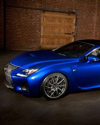 Lexus RC F Background for Nokia Asha 303