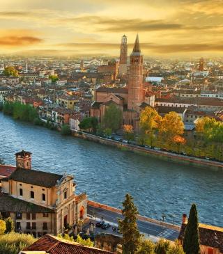 Italy City - Obrázkek zdarma pro Nokia Asha 308