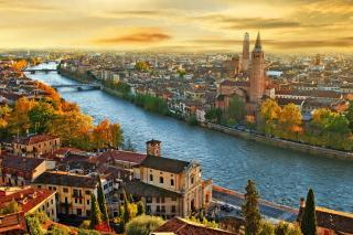 Italy City - Obrázkek zdarma pro 1366x768