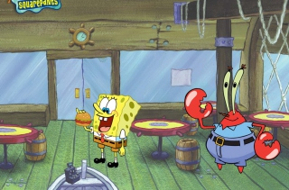 Spongebob And Crab Background for Android, iPhone and iPad
