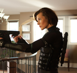Resident Evil: Retribution - Obrázkek zdarma pro iPad mini 2