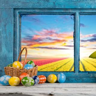 Easter still life - Obrázkek zdarma pro 1024x1024