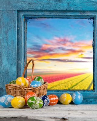 Easter still life - Obrázkek zdarma pro Nokia C2-05