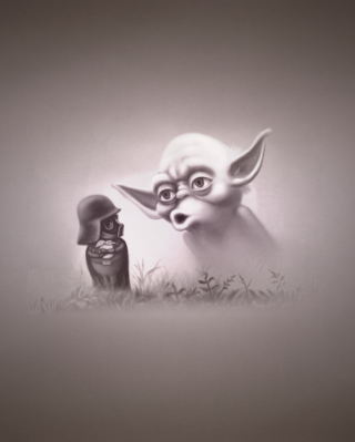 Darth Vader In The Fog - Obrázkek zdarma pro Nokia X2-02