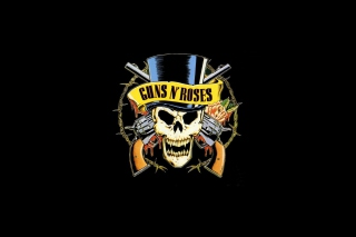 Guns'n'roses Logo Background for Android, iPhone and iPad