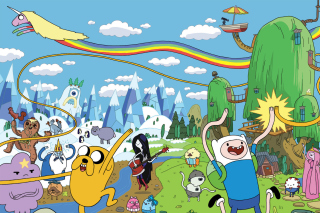 Adventure time Picture for Android, iPhone and iPad