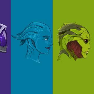 Mass Effect Art - Obrázkek zdarma pro iPad mini 2