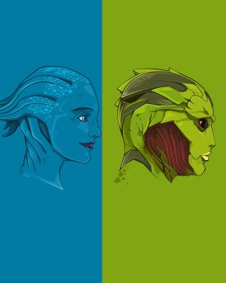 Mass Effect Art - Obrázkek zdarma pro Nokia Asha 502