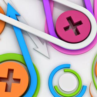 Arrows - Clips - Obrázkek zdarma pro iPad mini 2