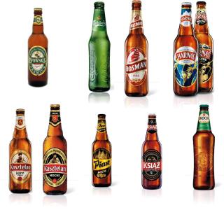 Beer Brands, Bosman, Ksiaz, Harnas, Kasztelan - Obrázkek zdarma pro iPad