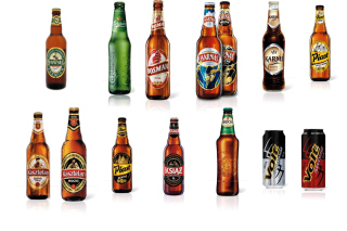 Beer Brands, Bosman, Ksiaz, Harnas, Kasztelan Background for Android, iPhone and iPad