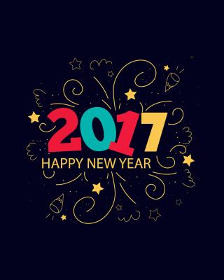 New Year 2017 - Obrázkek zdarma pro Nokia Asha 303