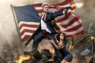 United States Bill Clinton Picture for Android, iPhone and iPad