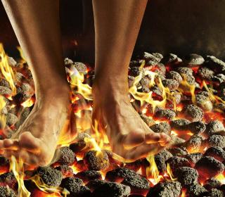 Hot Coals - Obrázkek zdarma pro 208x208