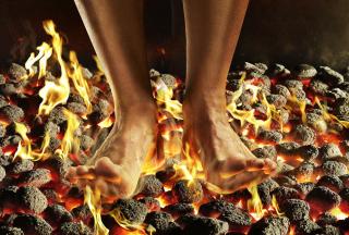 Hot Coals - Obrázkek zdarma pro 480x320