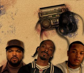 Ice Cube, Snoop Dogg - Obrázkek zdarma pro iPad