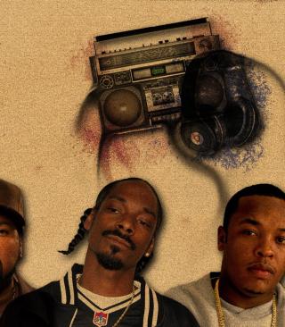 Ice Cube, Snoop Dogg - Obrázkek zdarma pro iPhone 5C