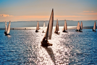 Sailing Boats Background for Android, iPhone and iPad