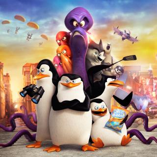 The Penguins of Madagascar 2014 - Obrázkek zdarma pro iPad