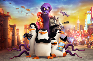 The Penguins of Madagascar 2014 - Obrázkek zdarma pro Widescreen Desktop PC 1280x800