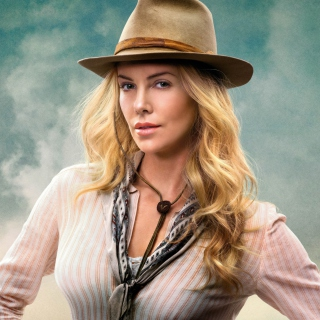 Charlize Theron In A Million Ways To Die In The West - Obrázkek zdarma pro 2048x2048